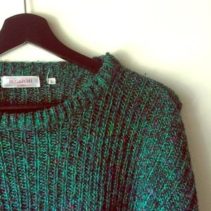 Knit Green Cozy Sweater
